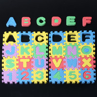 age mat - Puzzle Age Kid Educational Toy Alphabet A Z Letters Numeral Foam Mat for Children