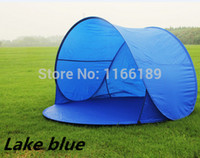 Wholesale Automatic Pop Up Person Beach UV sun shade Outdoor Camping Tourism Folding Awnings Fishing Tent waterproof Bivvy awning