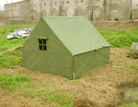 army canvas tent - outdoor camping fish tent Army Green canvas tent