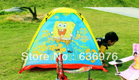 Cheap Wholesale-Free Shipping Children Kid Bady Child SpongeBob SquarePants Tent Play House Drop Shipping High Quality
