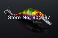 Wholesale Hot Proberos Crank Lures pc selling fishing lure color cm g top water magician fishing tackle freeshipping