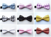 Wholesale bowties men s ties men s bow ties men bow tie pure color bowtie factory bowtie