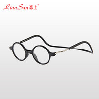 magnetic reading glasses - Adjustable Fashion Magnetic Reading Eyeglasses Unisex to D Front Connect Reader Reading Glasses