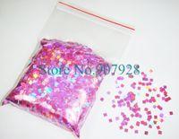 bags lilacs - g bag Laser Lilac Dazzling Square Glitter Paillette Spangles Shape for Nail Art Decoration