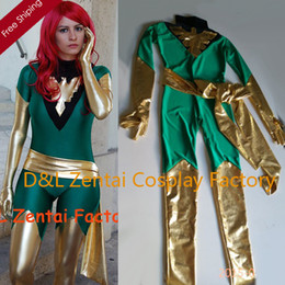 2017 female x men halloween costumes Wholesale,Free Shipping DHL Jean Grey Costume X,