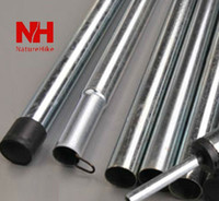 Wholesale Meters Tent Pole Section PC Pole Steel Rod For Tent Awning Sunshade Shade Shed DIY Camping Accessories