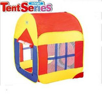 Cheap Wholesale-Children large size tent baby outdoor play house double-door game tent kids outings home + free shipping