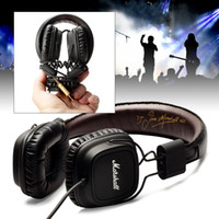 Wholesale Marshall Major With Microphone amp Remote On Ear Pro Stereo Headphone with Retail Box