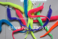 trick worms - Plush Magic Wiggle Worm Twisty Worm Stuffed Animals Assorted Colors Mr Fuzzy Magic Trick Toys For Kids Children KF363