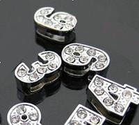 Wholesale 100pc mm Slide Number DIY Accessories