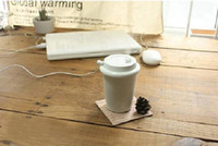 Wholesale Doulex Mini USB Air Humidifier Coffee Cup Shape Car Air Humidifier New Gift