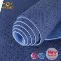 yoga mat - Jinlala Eco friendly yoga mat Slip resistant mm tpe Mat Yoga Abroaden Mat For Exercise Household Cushion183