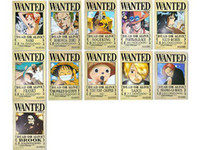 anime posters - x New Anime ONE PIECE Wanted Poster Great Toy Gift for Kids to WORLDWIDE
