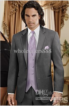 Custom Made New Men Wedding/Prom Clothing Groom Tuxedos Wear ...