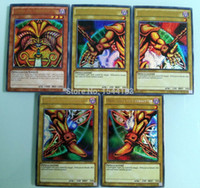 Wholesale collector YuGiOh secret Rare cards collection English version YuGiOh cards Japanese Animation TV cards