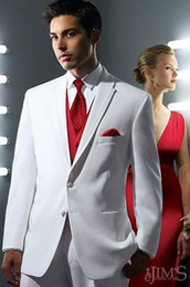 Custom Made New Men Wedding Prom Clothing Groom Tuxedos Wear Bridegroom Suit (Jacket+Pants+Tie+Vest) C739