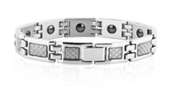 Wholesale 2011 Hot Sale Fiber Magnetic Health Bracelet Fashion Brand New