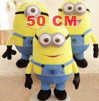 Wholesale despicable me D eyes plush Toy cm minions stuffed dolls jorge stewart dave minion plush toys HT499