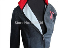 assassins outfit - Assassin s Creed Conner Kenway Coat mens hoodies and sweatshirts men boys children Assassins Creed cosplay costume sports outfit