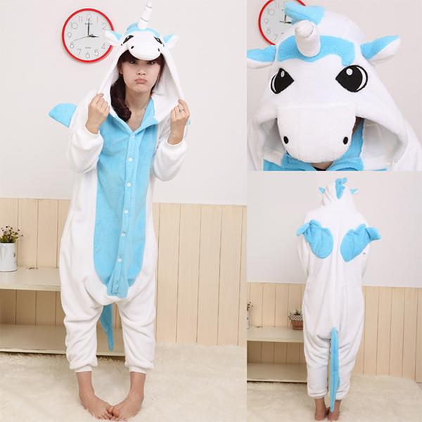 Unicorn Onesie/ Anime Cosplay/ Unicorn Costume/ Adult Animal ...