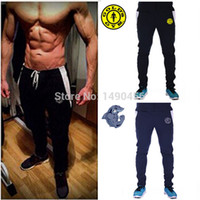 baggy bottoms - GymShark Luxe Fitted Bottoms New Golds Gym Fitness Sports Pants Men Outdoor Fashion Sweat Pants Baggy Jogger Trousers