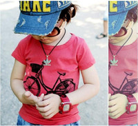 Wholesale Kids T shirts boys t shirts baby tops jumpers bike frock blouses tee shirts garments tshirts SH149