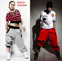 Wholesale Fashion New Sport Men Women Harem Pants Sport Hip Hop Pants Men Brand Baggy Dance Pants Sweatpants For Men M XXXL pc
