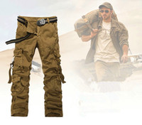 army surplus trousers - MENS MILITARY SURPLUS AIRBORNE ARMY COMBAT CARGO WORK TROUSERS PANTS