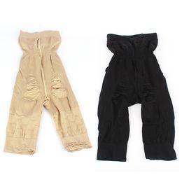 Wholesale-Super Slimming Hi-Cuts Burn Fat Spanx Shapewear Tummy Shaper Bodysuit Pants