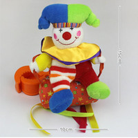 baby doll swings - PC Baby Child Infant Funny Cute Sweet Toys Animal Cartoon Monkey Clown Windbell Ring Bell Swing Doll Toy