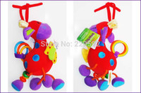 Cheap Wholesale-Free shipping 2015 new Baby rattle toys Germany TOLO Maverick   deer car bed lathe hanging plush toys baby mobiles kid rattles