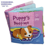 bedtime stories love - Candice guo newest arrival soft baby cloth book cute dog puppy s bedtime story book love my baby pc