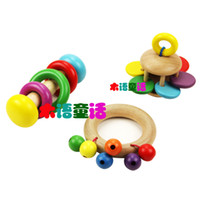 baby crisps - New Baby bells rainbow rattle sound crisp string of bells Children s Musical Toys Baby Toys