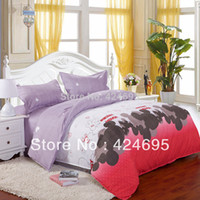 mickey mouse bedding - Mickey mouse pattern of bedding sets luxury include Duvet Cover Bed sheet Pillowcase bedclothes Home textile