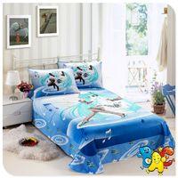 Wholesale Hatsune Miku Bedding Kids Bedding Set Single Full Double Size Cotton Reactive Printing Children Bedding Set