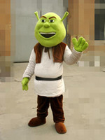 Wholesale New Shrek Mascot Costume Adult For Halloween Free S H