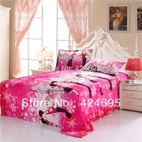 bed sheet and blankets - Home Textile boy and girl The warm coral fleece blankets on the bed throw bedclothes bed sheet Size for choice