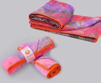 Wholesale Hotsale Silicone Tie dye Technology Blanket Yoga Towel Yogitoes quot quot Dot Yoga Blanket Microfiber Towel