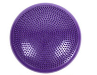 Wholesale Inflatable tube balancing ball yoga massage cushion balancing pad soft balancing wheel strengthen