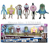 action man muscle - Regular Show inch Mordecal Rigby Benson Muscle Man Skips Pops action figure Toys