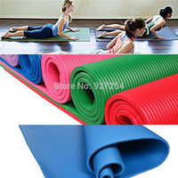 Wholesale mm moistureproof fitness yoga mat eco friendly sport tools household cusion blanket equipment slip resistant gymnastics mats