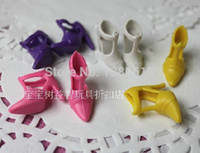 best clothes hangers - Best gift for children40 items dress shoes hangers bag glass Accessories Doll s Dress Clothes Gown For Barbie