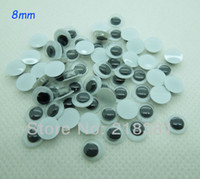 Wholesale Hot sell plastic doll eyes handmade DIY Scrapbooking crafts MM