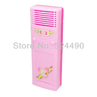 air condition equipment - Doll Funiture Equipment Disply Toys Accessories TV Air condition For Barbie Doll Birthday Christmas Gift