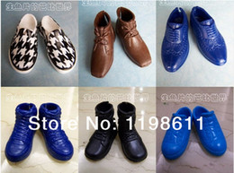 Wholesale New Arrival pairs Stylish Shoes For Barbie Boy friend Ken Dolls Accessories Best gift for girl