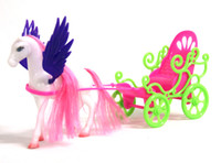 barbi doll - new carriage for dolls birthday gift Exquisite angel carriage for Barbi dolls amp accessories learning amp education