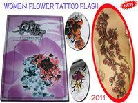 hot sale   TATTOO Book FLASH A3 Tattoo book 70pages tattoo design Flower tattoo magazine