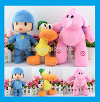 plush elephant - NEWEST Pocoyo and Friends Elly Elephant Pato Duck Soft Plush Toys POCOYO Dolls Stuffed Figure Toys For Baby Kids Gifts