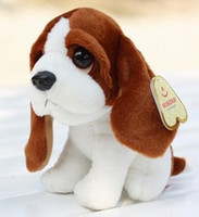 basset hound dogs - Lovely Dog Stuffed Plush Animal Toy Little Basset Hound Dog Very Soft amp Vivid amp High Quality Cheap Sale