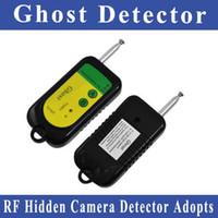 Cheap Wholesale-FreeShipping Anti-Spy Bug Ghost Hidden Camera Detector RFsignal detector Wireless Broadband Pinhole Hidden Camera ExplorerFinder